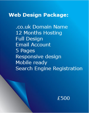Web Site Design, Domain Name Registration,  Hosting POP3 Email Web Site Maintenance Visitor counter/reporting Search Engine Registration